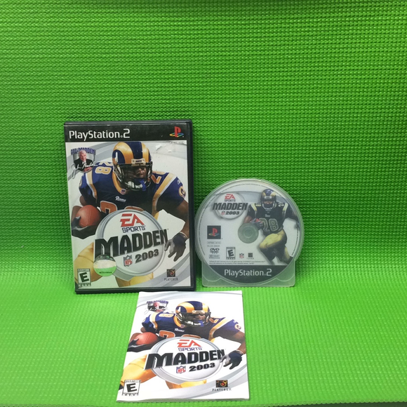Madden 2003 - Sony PS2 Playstation 2 | Disc Plus