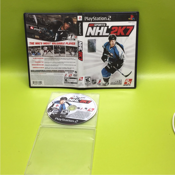 NHL 2K7 - Sony PS2 Playstation 2 | Disc Plus