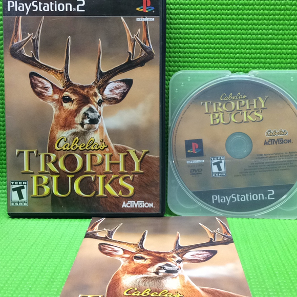 Cabela's Trophy Bucks - Sony PS2 Playstation 2 | Disc Plus