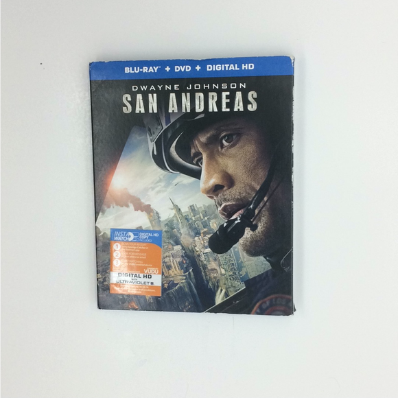 San Andreas - Blu-ray Action/Adventure 2015 PG-13 | Disc Plus