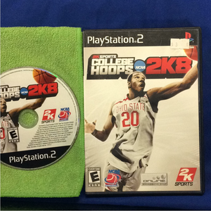 College Hoops 2K8 - Sony PS2 Playstation 2 | Disc Plus