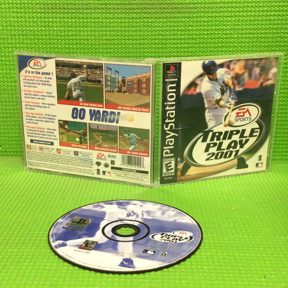 Triple Play 2001 - Sony PS1 Playstation 1 | Disc Plus