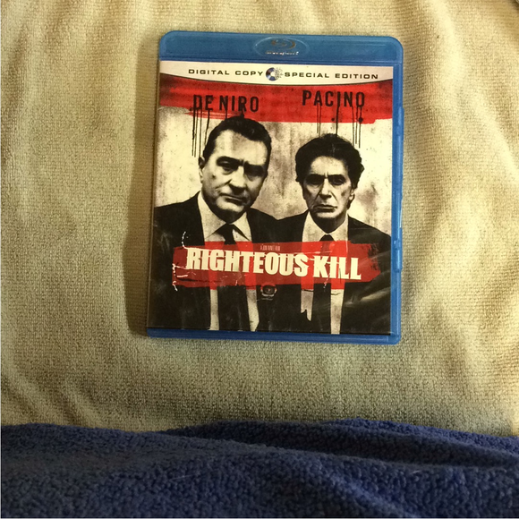 Righteous Kill - Blu-ray Drama 2008 R | Disc Plus
