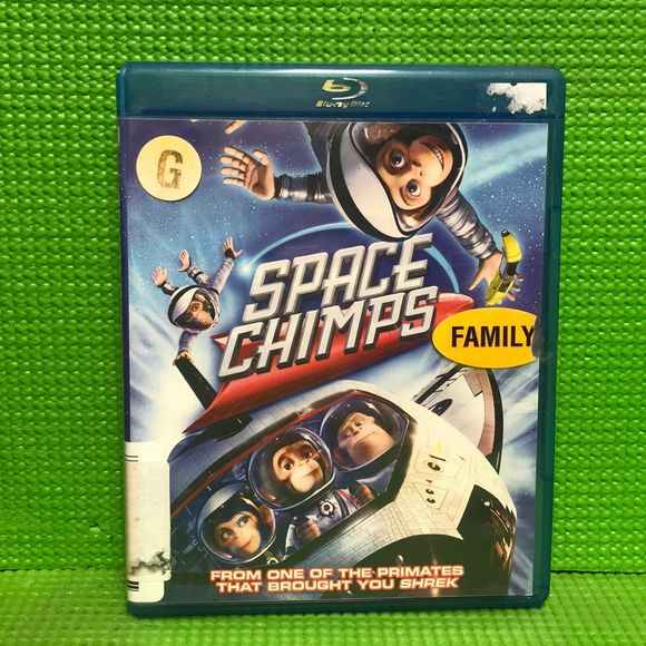 Space Chimps - Blu-ray Animation 2008 G | Disc Plus