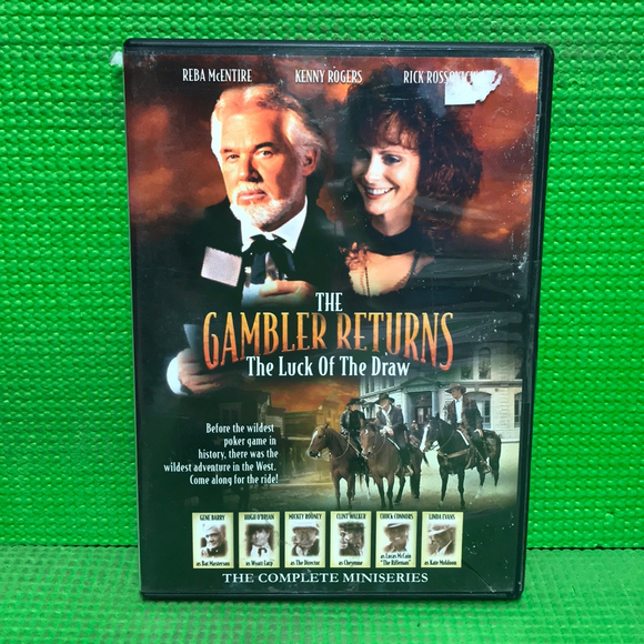 Gambler Returns: Luck Of The Draw - DVD Western 1991 NR | Disc Plus
