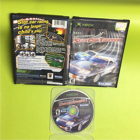 Grooverider: Slot Car Thunder - Microsoft Xbox | Disc Plus