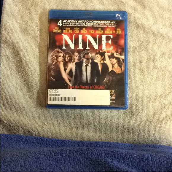 Nine - Blu-ray Musical 2009 PG-13 | Disc Plus