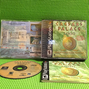 Caesar's Palace 2000 - Sony PS1 Playstation 1 | Disc Plus