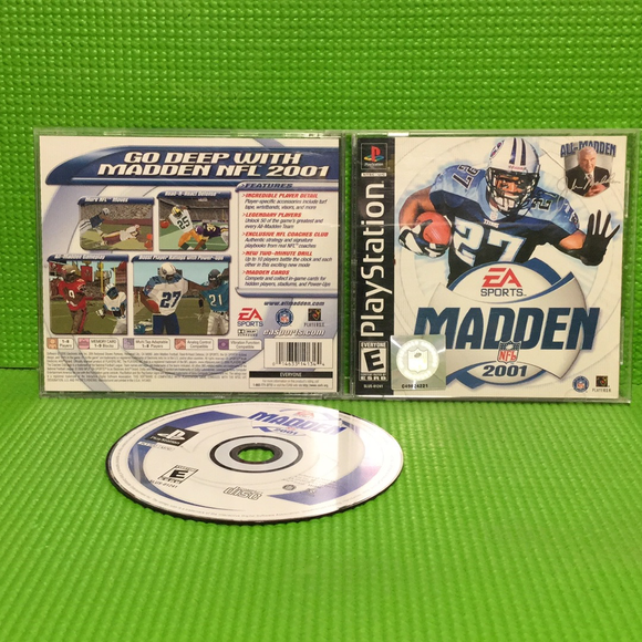 Madden 2001 - Sony PS1 Playstation 1 | Disc Plus