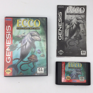 Ecco: The Tides of Time - Sega Genesis | Boxed or CIB