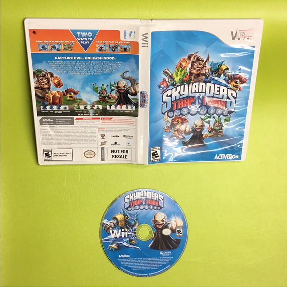 Skylanders: Trap Team (Game Only) - Nintendo Wii U | Disc Plus
