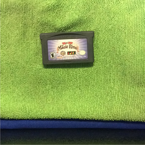 Tom and Jerry Magic Ring - Nintendo GBA Gameboy Advance | Cartridge Only