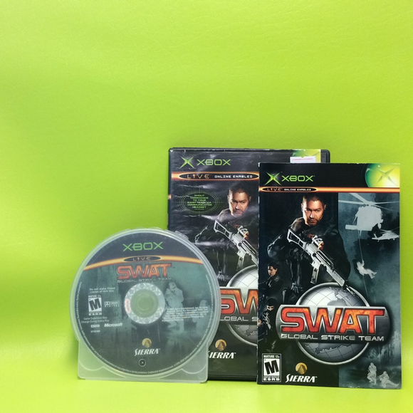 SWAT Global Strike Team - Microsoft Xbox | Disc Plus