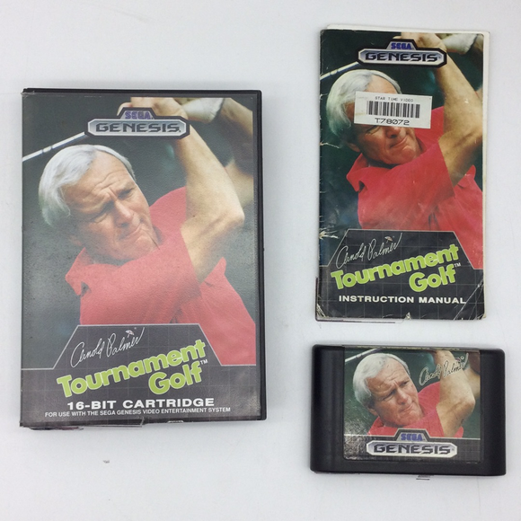 Arnold Palmer Tournament Golf - Sega Genesis | Boxed or CIB