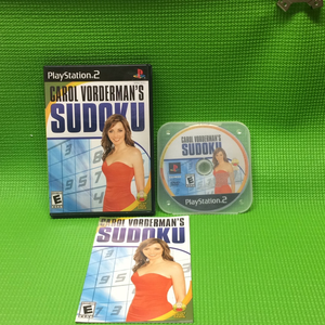 Carol Vordermans Sudoku - Sony PS2 Playstation 2 | Disc Plus