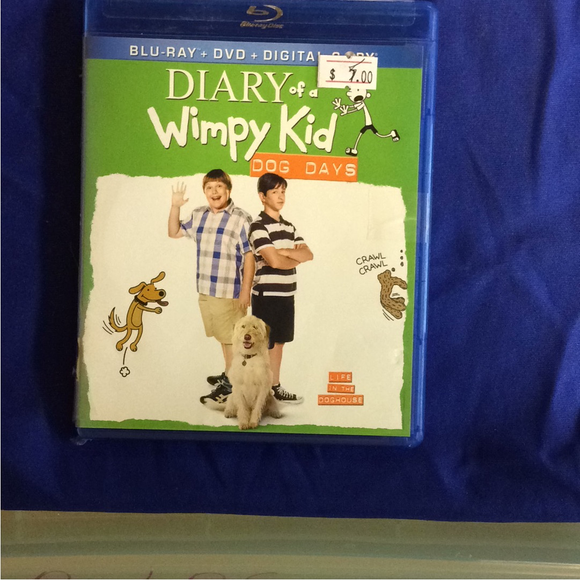 Diary Of A Wimpy Kid: Dog Days - Blu-ray Family 2012 PG | Disc Plus