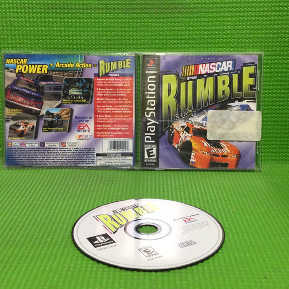 NASCAR Rumble - Sony PS1 Playstation 1 | Disc Plus