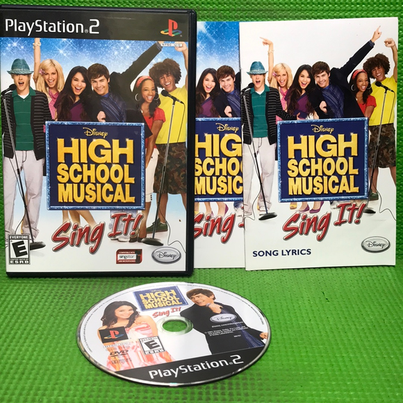 Disney Sing It: High School Musical - Sony PS2 Playstation 2 | Disc Plus