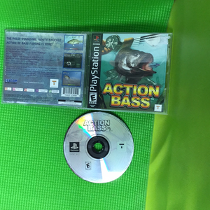 Action Bass - Sony PS1 Playstation 1 | Disc Plus