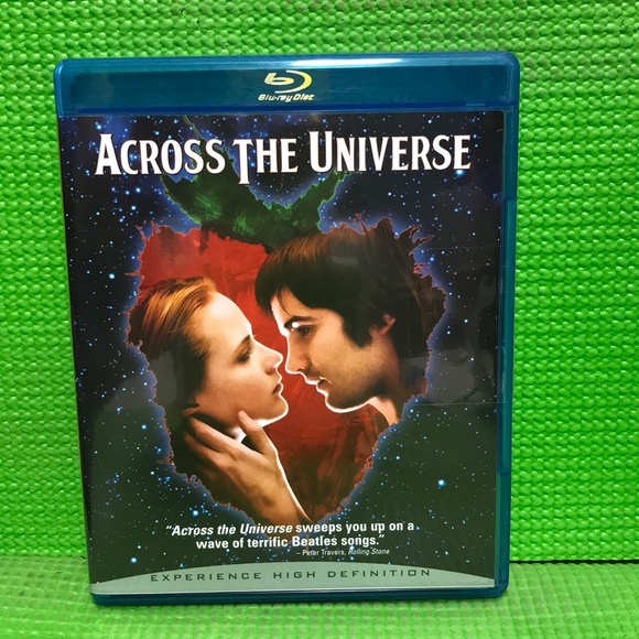 Across The Universe - Blu-ray Musical 2007 PG-13 | Disc Plus