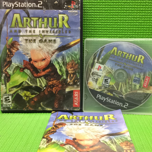 Arthur and the Invisibles - Sony PS2 Playstation 2 | Disc Plus