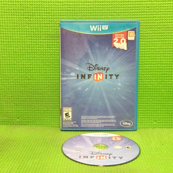 Disney Infinity 2.0 (Game Only) - Nintendo Wii U | Disc Plus