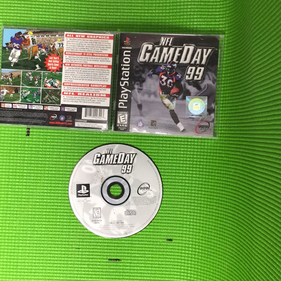 NFL Gameday 99 - Sony PS1 Playstation 1 | Disc Plus