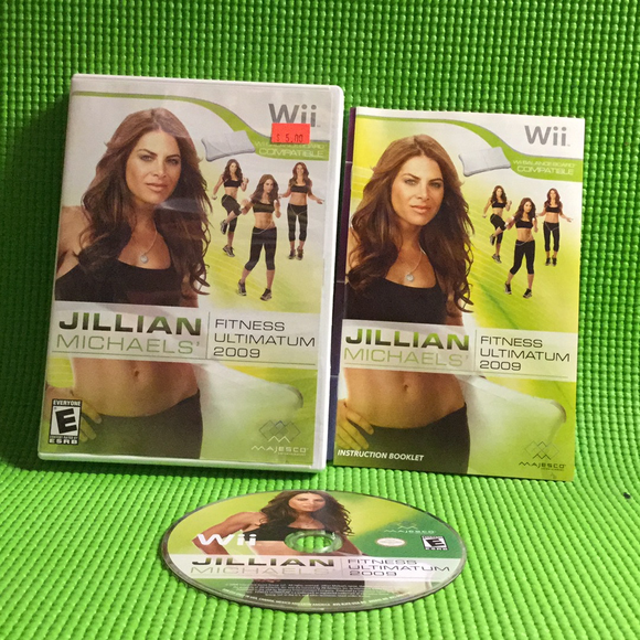 Jillian Michaels' Fitness Ultimatum 2009 - Nintendo Wii | Disc Plus