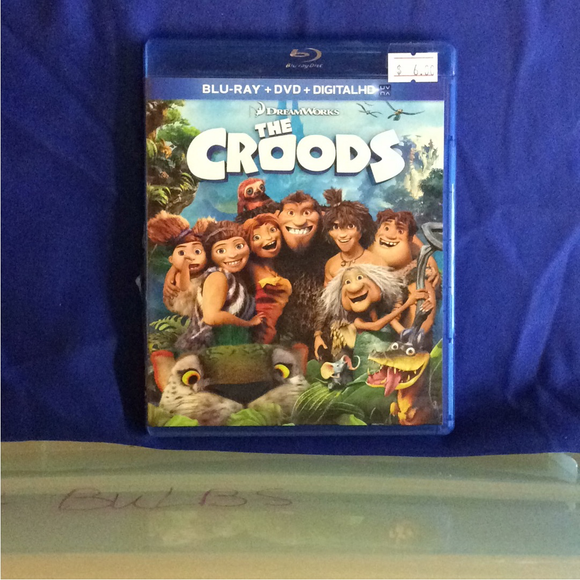 Croods - Blu-ray Animation 2013 PG | Disc Plus