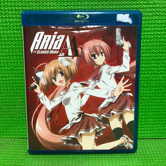 Aria The Scarlet Ammo AA: The Complete Series - Blu-ray Anime 2015 MA13 | Disc Plus