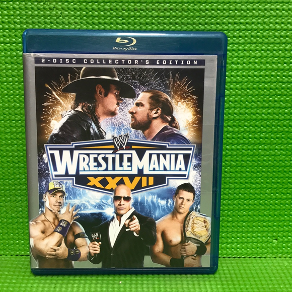 WWE: WrestleMania XXVII Collector's Edition - Blu-ray Special Interest 2011 NR | Disc Plus