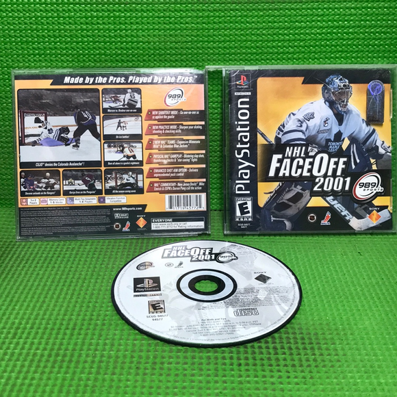 NHL FaceOff 2001 - Sony PS1 Playstation 1 | Disc Plus