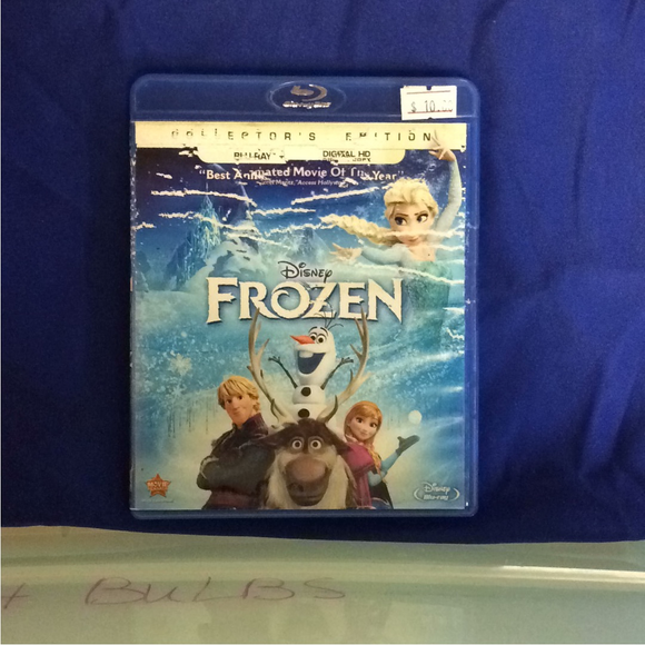 Frozen - Blu-ray Animation 2013 PG | Disc Plus