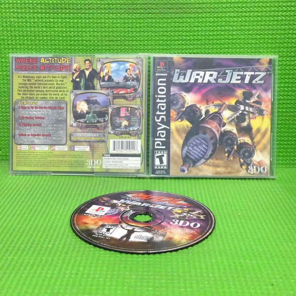 War Jetz - Sony PS1 Playstation 1 | Disc Plus