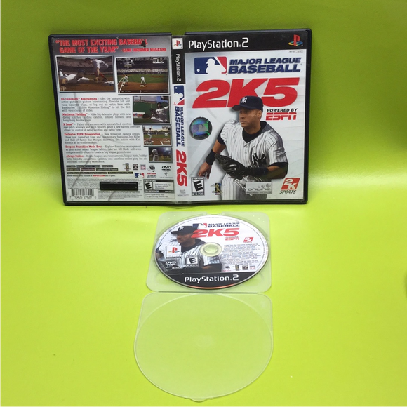 ESPN Major League Baseball 2K5 - Sony PS2 Playstation 2 | Disc Plus