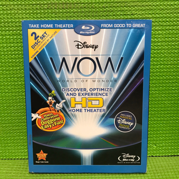 Disney WOW: World Of Wonder (HD Version) + Bonus Disc - Blu-ray Special Interest 2010 NR | Disc Plus