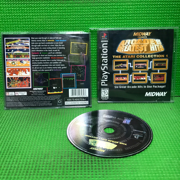 Arcade's Greatest Hits: The Atari Collection 1 - Sony PS1 Playstation 1 | Disc Plus