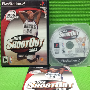 NBA Shootout 2003 - Sony PS2 Playstation 2 | Disc Plus