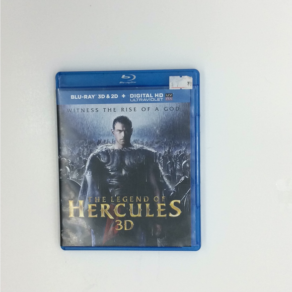 Legend Of Hercules - Blu-ray/3D Action/Adventure 2014 PG-13 | Disc Plus