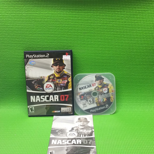 NASCAR 2007 - Sony PS2 Playstation 2 | Disc Plus