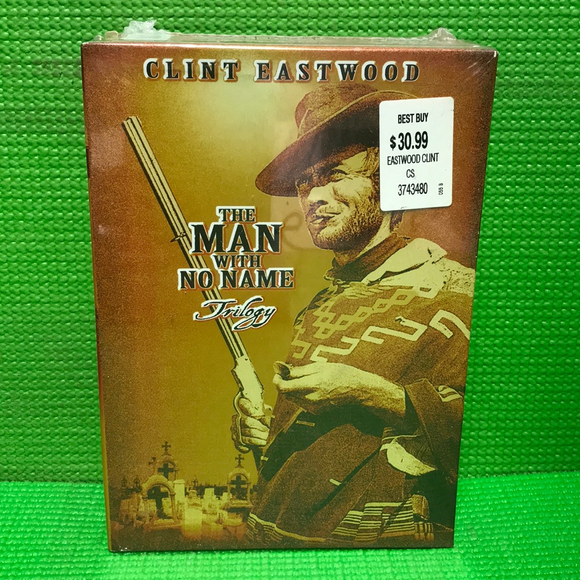 Man With No Name Trilogy: A Fistful Of Dollars / For A Few Dollars More / The Good, The Bad And The Ugly - DVD Western VAR R | Disc Plus