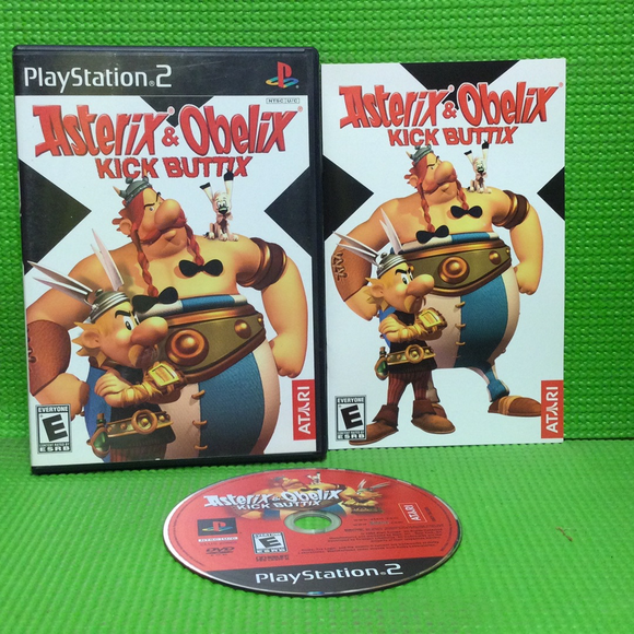 Asterix and Obelix Kick Buttix - Sony PS2 Playstation 2 | Disc Plus