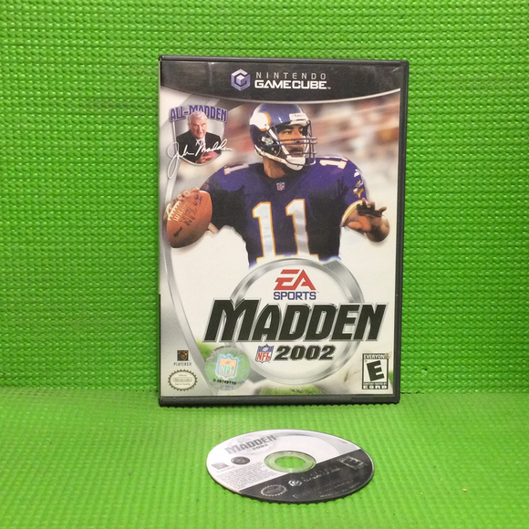 Madden 2002 - Nintendo Gamecube | Disc Plus