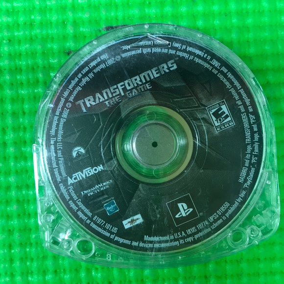 Transformers The Game - Sony PSP | Disc Only