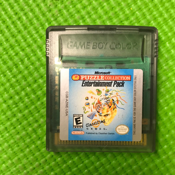 Microsoft Puzzle Collection - Nintendo Gameboy Color | Cartridge Only