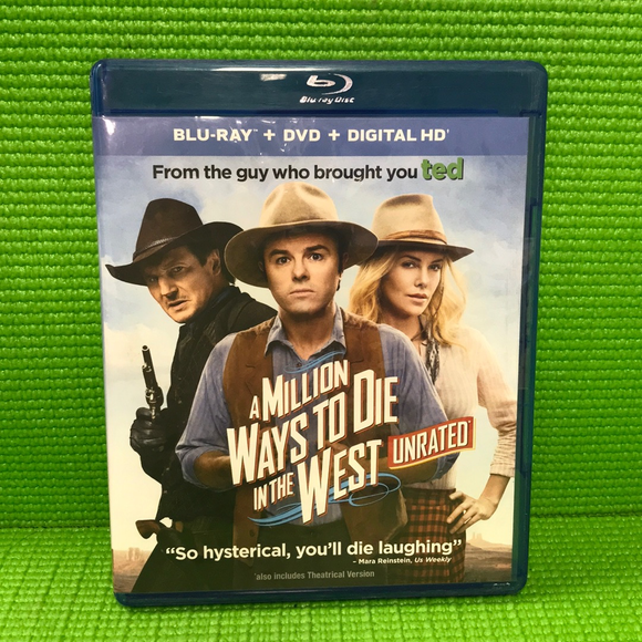 Million Ways To Die In The West - Blu-ray Western 2014 UR/R | Disc Plus