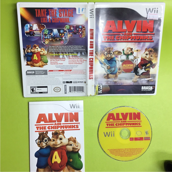 Alvin and The Chipmunks - Nintendo Wii | Disc Plus