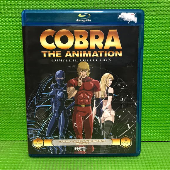 Cobra The Animation: Complete Collection - Blu-ray Anime 2010 MA17 | Disc Plus