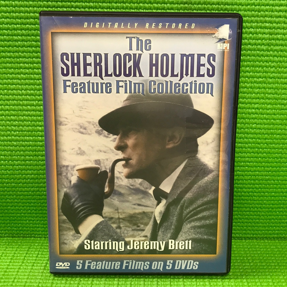Sherlock Holmes Feature Film Collection: Hound Of The Baskervilles / Last Vampyre / Sign Of Four / Eligible Bachelor / ... - DVD Mystery/Suspense VAR NR | Disc Plus