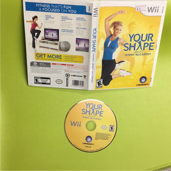 Your Shape - Nintendo Wii | Disc Plus